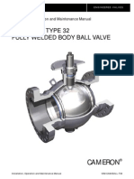IOM Manual for CAMAROON Ball valves