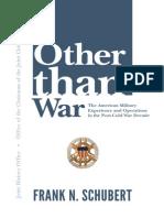 Schubert Other Than War