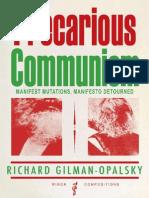 Precarious Communism