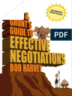 Tork & Grunt's Guide to Effective Negotiations