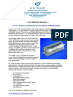 Maxon EC40 New Product Press Release