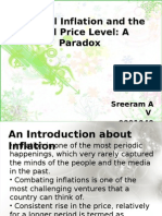 National Inflation and the Local Price Level