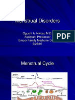 Menstrual Disorders[1]