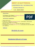 Corso Di Fondamenti Di Elettronica (76611)
