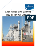 Heat Recovery Steam Generators (Hrsg) and Treatment Chemistries