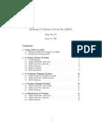 ampl | Linear Programming | Matrix (Mathematics)
