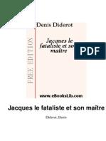 Diderot-Jacques Le Fataliste Et Son Maitre