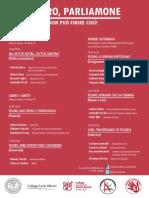 Tesoro Parliamone Programma