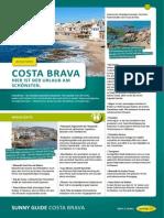 Costa Brava Reisefuehrer