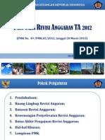 Slide Sosialisasi Revisi DIPA (PMK 49 Tahun 2012)