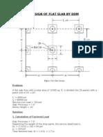 Design of Flat Slab by DDM