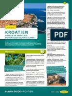 Kroatien Reisefuehrer