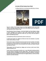 A True Letter of Our Saviour Jesus Christ