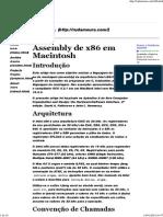 Assembly x86