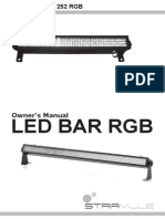 Stairville LED Bar 252 Manual