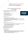 Paths to Mastery Lesson 17 Speaking Tips From Dale Carnegie the Quick and Easy Way to Effective Speaking