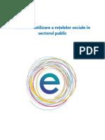 Ghidul de Utilizare a Retelelor Sociale in Sectorul Public
