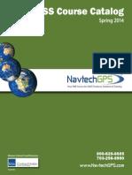 NavtechGPS Course Catalog