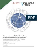 Whitepaper Zin en Onzin PRISM en WBP