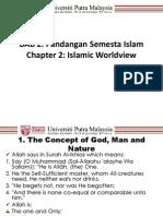 2 Pandangan Semesta Islam