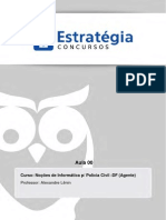 Informática PCDF 2013 Estratégia