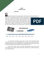 Makalah Budaya Perusahaan Samsung