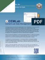 CEMLab   Cement Lab Data Management Software