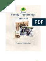 Family Tree Builder User Guide 4.0 French