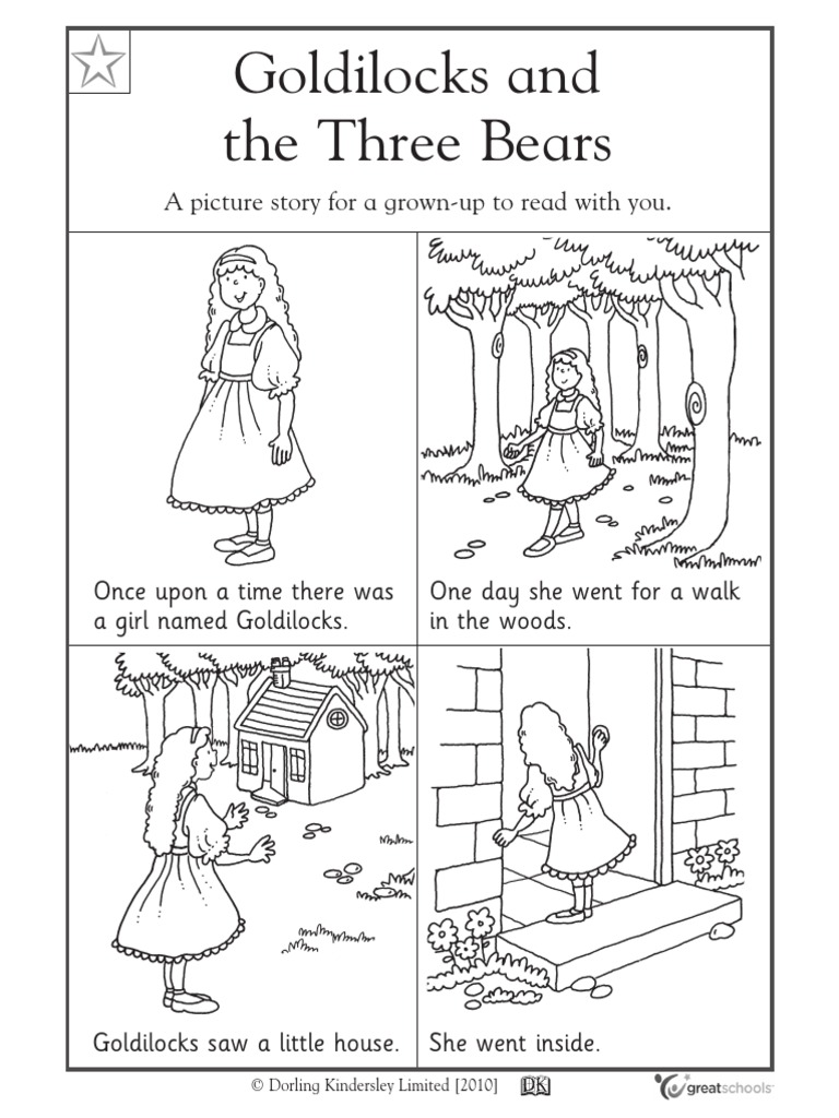 Unit 8 - Goldilocks and the Three Bears | Goldilocks And The Three ...