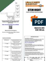 stem night brochure 2014