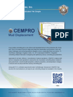 CEMPRO   Mud Displacement Software