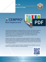 CEMPRO+ | Mud Displacement Software (with displacement efficiency)