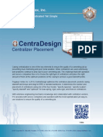 CentraDesign   Centralizer Placement Software