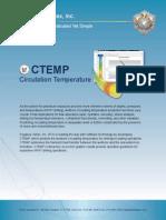 CTEMP   Circulation Temperature Software