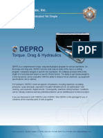DEPRO | Torque, Drag and Hydraulics Software