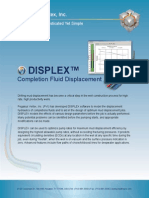 DISPLEX   Completion Fluid Displacement Software