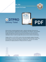 DTPRO | Delivery Ticket Software