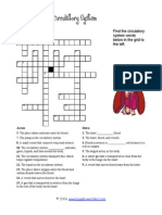 Circulatorysystem Crossword