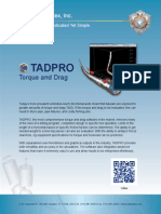 TADPRO | Torque and Drag Software
