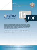 TMPRO | Tubing Movement Software
