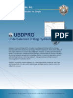 UBDPRO | Underbalanced Drilling Hydraulics Software