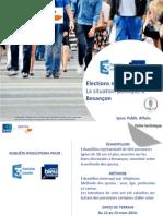 Enquete Ipsos Steria Besançon Municipales Besançon