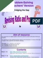 Ratio n Proportion Final Teachers f3