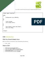 Module -  3 (CSS)-2014