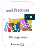 Best Practices of Inclusive Education