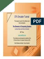 CPU Emulator Tutorial