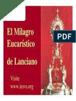 Milagro Eucaristico