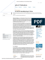 A New Era for Manufacturing in China _ McKinsey & Company