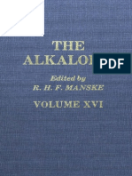 35980975 the Alkaloids Chemistry and Physiology Volume 16 1977 IsBN 0124695167