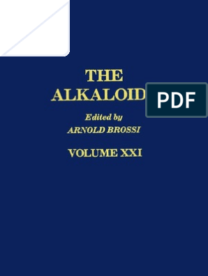 the Alkaloids Chemistry and Pharmacology Volume 21